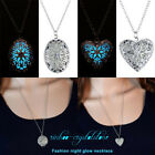 Mom Style GLOWING Glow In The Dark Locket Pendant Necklace & frozen New idears