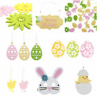 Easter Laser Cut Felt Decorations - Hanging Masks Placemats Coasters Confetti