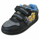 Minions Mayhem Boys Trainers, Childrens Minion Velcro Skate Shoes - GENUINE