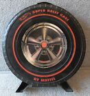 1968 MATTEL HOT WHEELS 24 CAR RED LINES SUPER RALLY CASE---ORIGINAL 13? DIAMETER