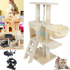 Cat Tree Tower Condo Furniture Scratching Post Pet Kitty Play House US STOCK