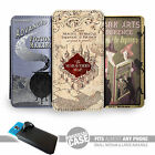 UNIVERSAL FIT Printed Phone Case Cover : Marauders Map, Dark Arts, Advanced