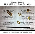Crosman 2240 1377 1322 Brass Screw Upgrade Kit Set Partial Rebolt 2250 2260 2289
