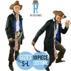 Adult/Mens Mens Pirates Of The Caribbean Captain Jack Sparrow Costume Fancy