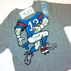 NEW! FOOTBALL Guy Body Boys Graphic Shirt 6-9 18-24 Months 2T 3T 4T Gift! School