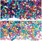 Lot of 3700 Bubblegum Inspired Tiny Acrylic Round Smooth Spacer Beads 4MM
