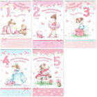 Great Granddaughter 1st 2nd 3rd 4th or 5th Birthday Card Lovely Verse GR