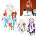 Wall Hanging Decoration Fashion Circle Sunflower Shape Dream Catcher Feathers