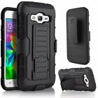 Dual Layer Belt Loop Kickstand Hard Cover Case for Samsung Galaxy Mobile Shell