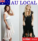 Formal Floral Lace Prom Party Club High Low Dress-SPECIAL OFFER TWO FOR ONE!