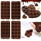New 3D Silicone Double Heart Sugarcraft Chocolate Cake Mold