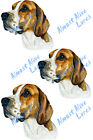 Almost Alive American Foxhound Dog Vinyl Decal Sticker - Car Truck SUV RV Boat