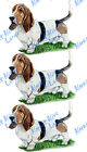 Hunting Scent Dog Basset Hound Vinyl Decal Sticker  - Home Car Truck SUV RV Boat