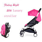 1set New Mini Baby Stroller Travel System small Pushchair  carriage one-key fold