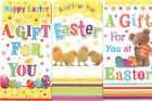 Pack of 2 Easter Money Wallet Gift Cards with Envelopes - Various Designs