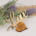 Love Bottle Opener with Wooden Christening Gift Tag, Baby, Baptism, Naming Day