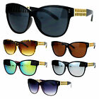 SA106 Womens Unique Metal Chain Arm Rectangular Butterfly Sunglasses