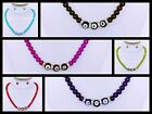 Glass Bead Fashion Necklace & Earring Set Costume Jewelry Wholesale - US Seller!