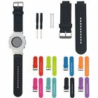 Silicone Watch Band Wrist Strap w/Pins Tool For Garmin VivoActive/Approach S2 S4