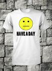 have a day t-shirt funny smiley face tshirt blah humbug mens guys small medium