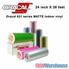 oracal 631 - 24 in x 30 ft Oracal 631 Matte Vinyl Cutter for Wall Graphics Craft Hobby