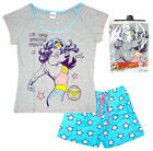 Womens DC Comics Wonder Woman Super Hero Stars Shorty Pyjamas Plus Sizes 8 to 22
