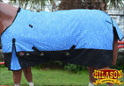 1200D HORSE WINTER TURNOUT BLANKET HEAVY DUTY COLD POLY RIPSTOP WATERPROOF PRINT