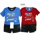 CUTE BABY BOY SHORTS & T-SHIRT OUTFIT - BRAND NEW