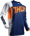Thor 2017 S7 Pulse Aktiv Jersey Orange/Navy Mens All Sizes