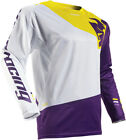 Thor 2017 S7 Fuse Air Pinin Jersey White/Purple Mens All Sizes