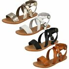 Ladies Leather Collection Summer Sandals 'F0924'