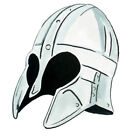 Vinyl Sticker Decal Home Kitchen Refrigerator and Window Decor - Viking Helmet 2