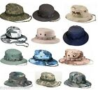 Rothco Wide Brim Military Camo Hunting Camping Bucket Boonie Hat