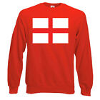English Flag (ENG) Sweatshirt, FLAGS - Choice of size & colours.