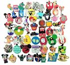 Disney Pin Trading Lot of 25 Assorted Collectible Pins - No Doubles - TRADABLE