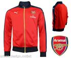 Arsenal Puma T7 Stadium Track Jacket Small Mens Home Football Tracksuit Red Top
