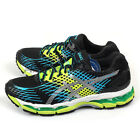 Asics Gel-Nimbus 17 Onyx/White/Flash Yellow Expert Running Shoes T507N-9901