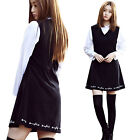"""2NEFIT"" Korea Women's Girl`s Fashion OPS-005 Embroidered One Piece Dress"