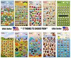 kawaii puffy scrapbooking kids craft diary stickers