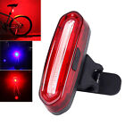 NEW USB Rechargeable Waterproof COB LED Bike Cycling  Tail Light 6-Modes Lamp