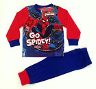 BOYS SPIDERMAN PYJAMAS, pj's, character nightwear - MARVEL18mths -5yrs - spidey