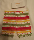 GYMBOREE Girls 2T Batik Summer Bike Shorts NWT Elastic Waist Cotton