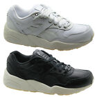 Puma Trinomic R698 Decor Womens Trainers Lace Up Shoes Black White 360533 U59