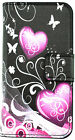 NEW Flip Magnetic Wallet PU leather stand Soft Silicone phone cover case for LG