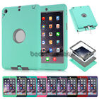 Shockproof Silicone Rubber Heavy Case Cover For iPad 2 3 4 /Mini /Air1 2 /Pro US
