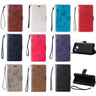 Pattern PU Leather Flip Wallet Card Case Soft Cover For Samsung Galaxy Phones