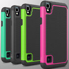 For LG Tribute HD / LG X Style Case Tough Protective Hard Hybrid Phone Cover