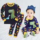 "NWT Vaenait Baby Infant Toddler Kids Boys Clothes Pajama Set ""Buddy Dino"" 12M-7T"