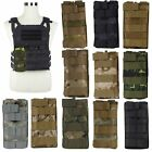 Nylon Molle Tactical Vest Single Rifle Mag Magazine Pouch Top Bag Cartridge Bags