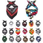 Paisley Skull Bandana Headwear Hair Band Scarf Neck Wrist Wrap Head Accessories